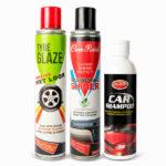 Tyre Glaze, Com-Raid, L Car Polish Combo Pack
