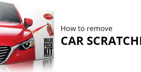 how to remove car scratches